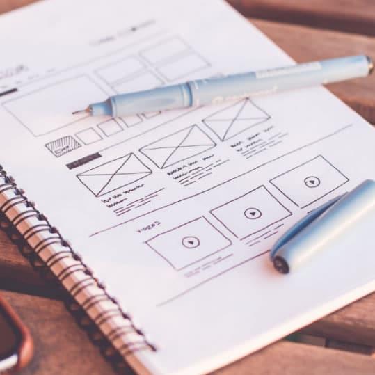 Even Keyl Web Design Prototype
